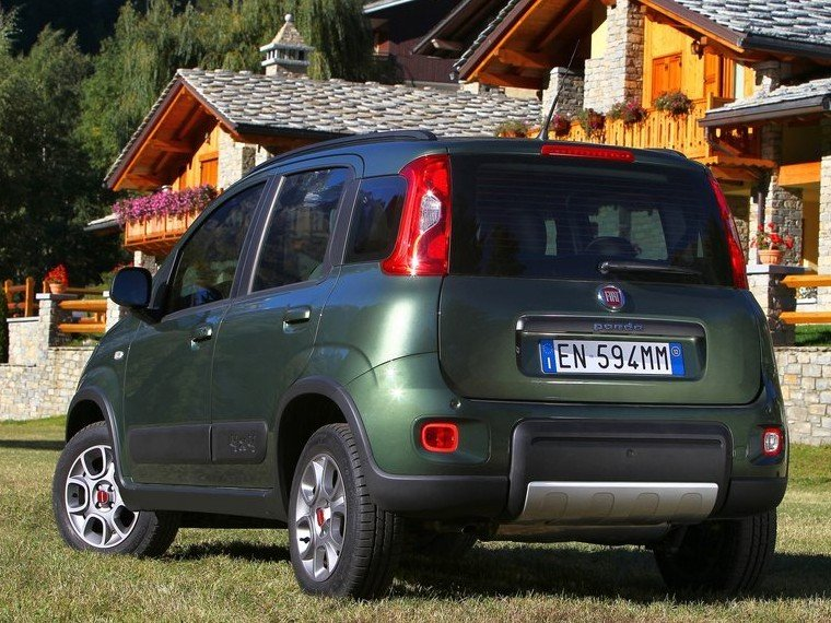 Fiat Panda Вид сбоку